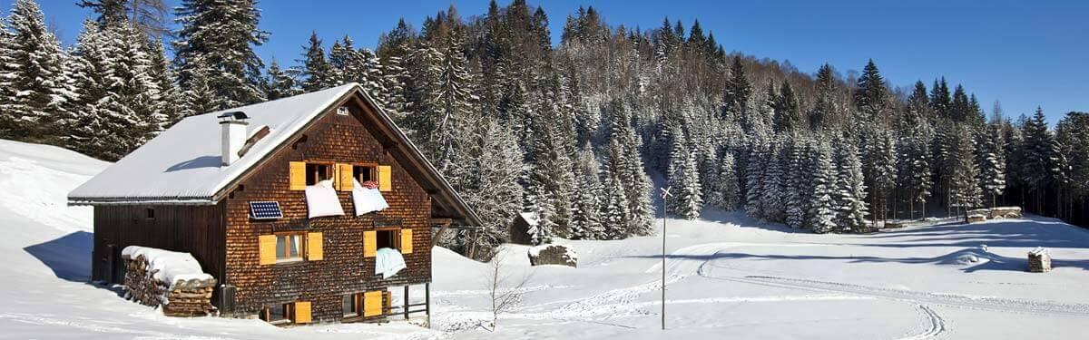 Vakantiehuizen en chalets wintersportvakantie - Interieur chalet houten berg ...