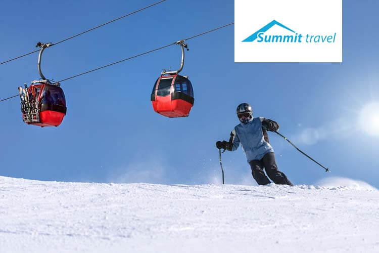 Aanbiedingen wintersport bij Summit Travel