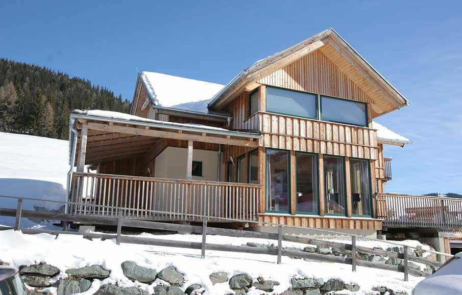 Vakantiehuizen en chalets wintersportvakantie for Chalet oostenrijk