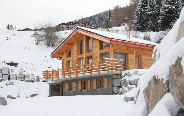 Modern Zwitsers Chalet : Vakantiehuizen en chalets in zwitserland voor een